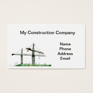 Highrise Construction Company Business Card