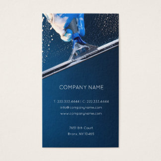 Hight Buildings Windows & Stained Glass Cleaning Business Card
