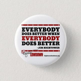 Hightower Lowdown: Everybody Does Better (Button) 1 Inch Round Button