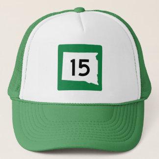 Highway 15, South Dakota, USA Trucker Hat
