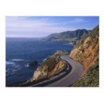 Highway 1 along the California Coast near Post Cards