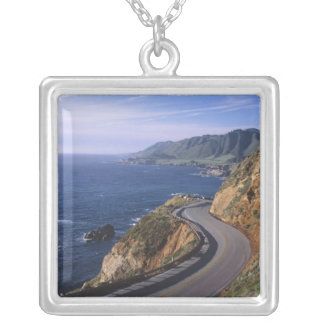Highway 1 along the California Coast near Silver Plated Necklace