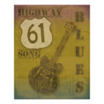 Highway 61 Blues Poster