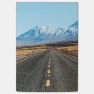 Highway landscape post-it® notes