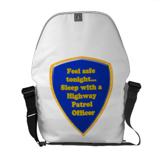 Highway Patrol Officer Courier Bags