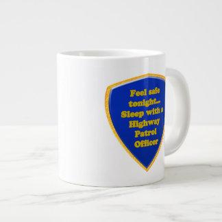 Highway Patrol Officer Large Coffee Mug