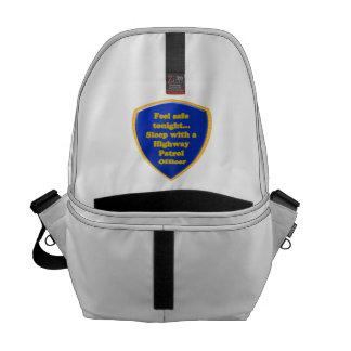 Highway Patrol Officer Messenger Bag