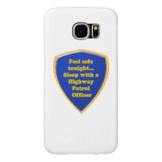Highway Patrol Officer Samsung Galaxy S6 Cases