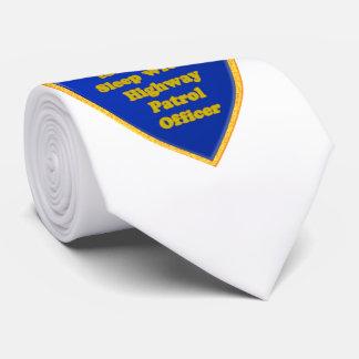Highway Patrol Officer Tie