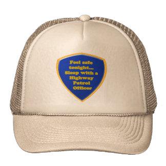 Highway Patrol Officer Trucker Hat