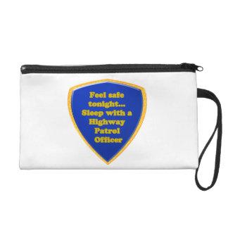 Highway Patrol Officer Wristlet