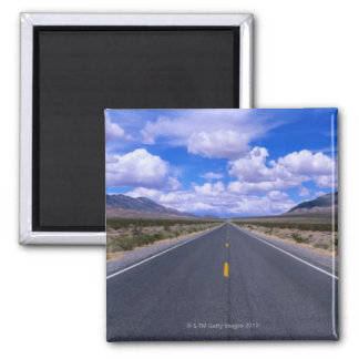 Highway Through Death Valley, California Magnets