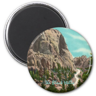 Highway to Mt. Rushmore Magnet