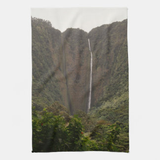 Hi'ilawe Falls Kitchen Towel