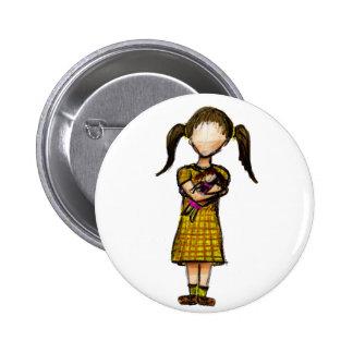 Hija 2 Inch Round Button