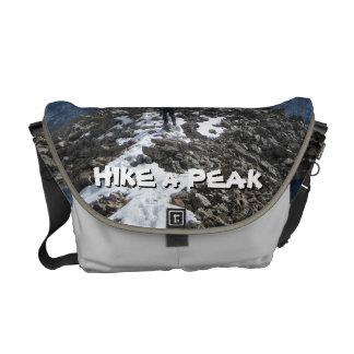 Hike a Peak Courier Bag