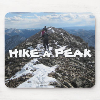 Hike a Peak Mouse Pad