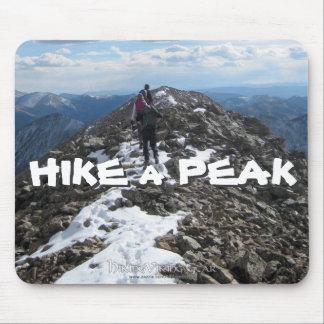 Hike a Peak Mouse Pad