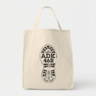 Hike ADK Grocery Tote Bag