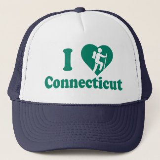 Hike Connecticut Trucker Hat
