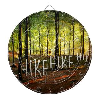 Hike Hike Hike Dartboard With Darts
