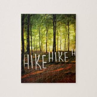 Hike Hike Hike Jigsaw Puzzle