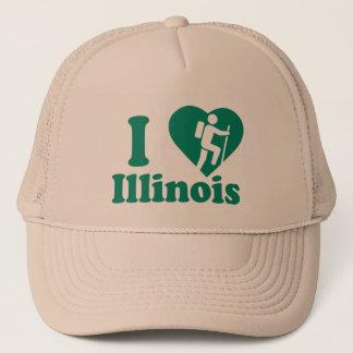 Hike Illinois Trucker Hat