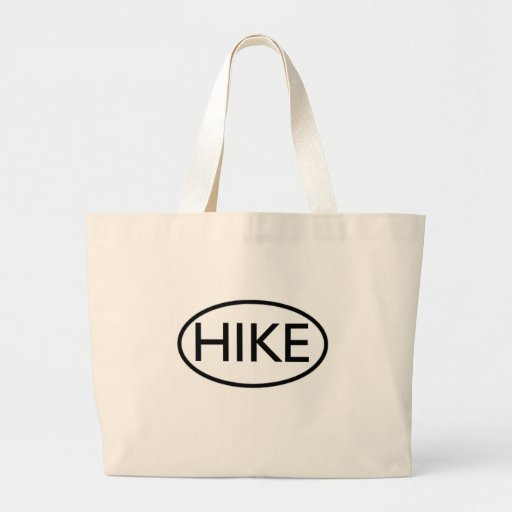 Hike in Oval Canvas Bags