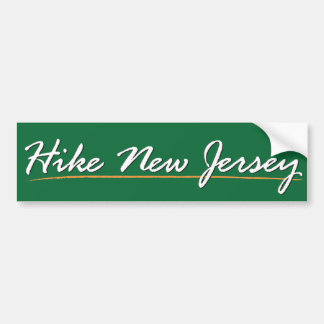 Hike New Jersey Sticker