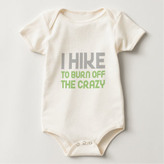 Hike off the Crazy Baby Bodysuit