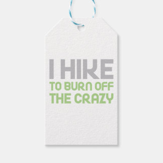 Hike off the Crazy Gift Tags
