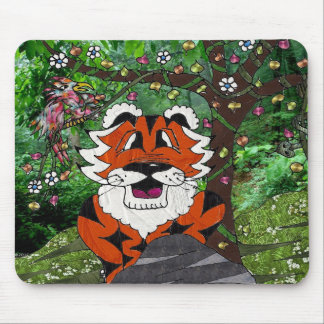 Hike Our Planet Eco-Team Tgrr Tiger Apparel  Gifts Mouse Pad