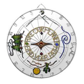 Hike Our Planet Hiker's Soul Compass Dart Board