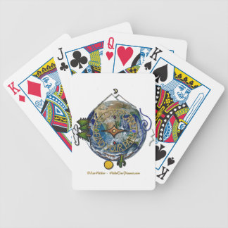 Hike Our Planet Hiker's Soul Compass Earth Poker Deck