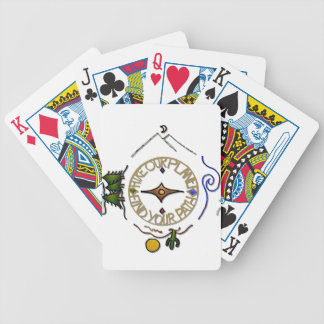 Hike Our Planet Hiker's Soul Compass Poker Deck