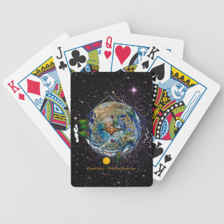 Hike Our Planet Hiker's Soul Compass Space Poker Deck