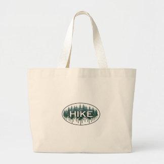 HIKE Oval Logo Jumbo Tote Bag