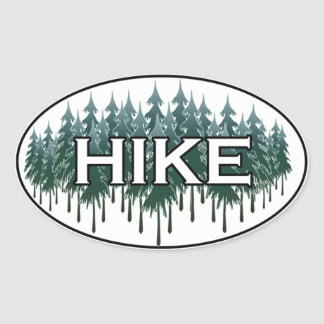 HIKE Oval Logo Oval Sticker