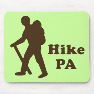 Hike PA Guy, Brown Mouse Pad