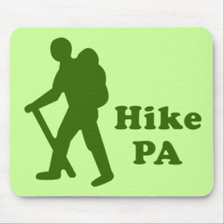Hike PA Guy, Dark Green Mouse Pad