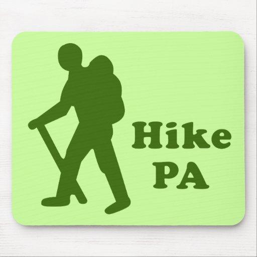 Hike PA Guy, Dark Green Mousepad
