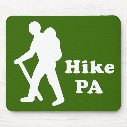 Hike PA Guy, White Mousepads