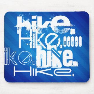 Hike; Royal Blue Stripes Mouse Pad