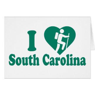 Hike South Carolina Card