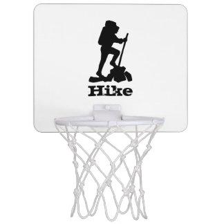 Hike the Mountains Mini Basketball Backboard