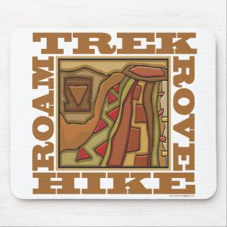 Hike, Trek Mouse Pad