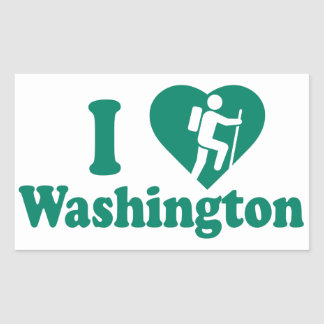 Hike Washington Sticker