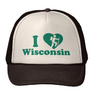 Hike Wisconsin Trucker Hat