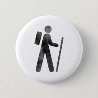 Hiker 2 Inch Round Button