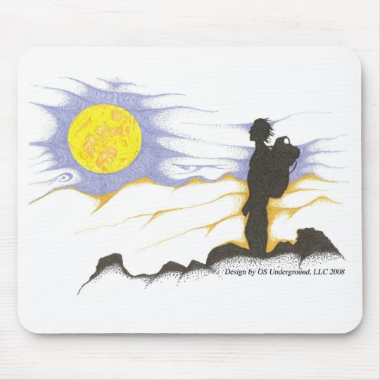 Hiker Mouse Pad